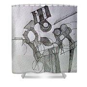 Tiferes 1 Shower Curtain