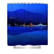 Eretria By Sea Shower Curtain