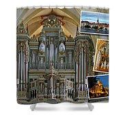 Erfurt Organ Montage Shower Curtain