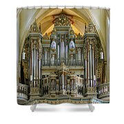 Erfurt Pipe Organ Shower Curtain