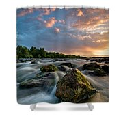 Eriador Shower Curtain by Davorin Mance