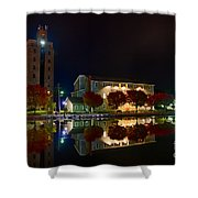 Erie Canal In Pittsford Ny Shower Curtain