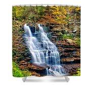 Erie Falls Shower Curtain