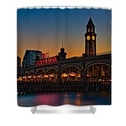 Erie Lackawanna Shower Curtain
