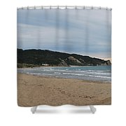 Erikousa Beach 2 Shower Curtain