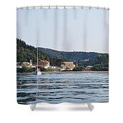 Erikousa Shines Shower Curtain