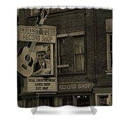 Ernest Tubb Record Shop Shower Curtain