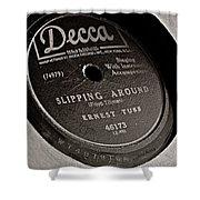 Ernest Tubb Vinyl Record Shower Curtain