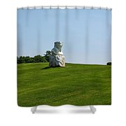 Eroi Di Luce. Ca Del Bosco Winery. Franciacorta Docg Shower Curtain