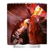 Erosions At Antelope Canyon Shower Curtain