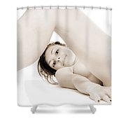 Erotic Beauty Shower Curtain