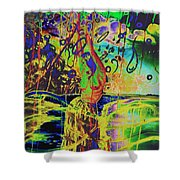 Erotic Devoted To To Dance And Music Shower Curtain