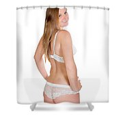 Erotic Rear View Shower Curtain