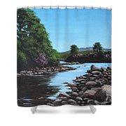 Erriff River Shower Curtain