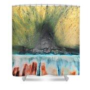 Eruption 1 Shower Curtain