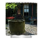 Erve Brooks Well In Holland Shower Curtain