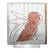 Esau - Tile Shower Curtain