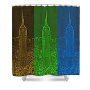 Esb Spectrum Shower Curtain