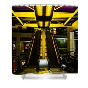 Escalator Lights Shower Curtain