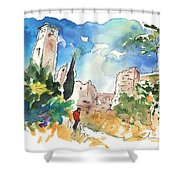 Escalona 03 Shower Curtain