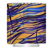 Escape.. Shower Curtain