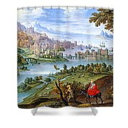 Escape To Egypt Shower Curtain
