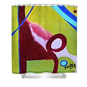 Escaping Tradition Shower Curtain