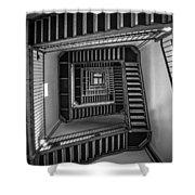 Escher Shower Curtain