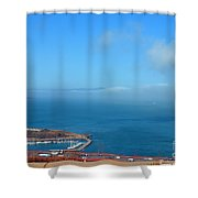 Escobedo Bay  -2 Shower Curtain