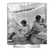 Eskimo Family, C1901 Shower Curtain