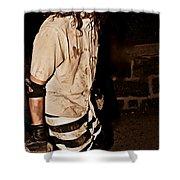 Esp Escaped Prisoner Zombie Shower Curtain