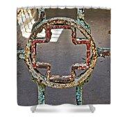 Esp Gate Cross Shower Curtain