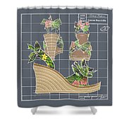 Espadrille - Tropicale Shower Curtain