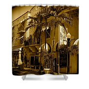 Espanola Way In Miami South Beach Shower Curtain
