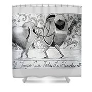 Especialmente Para Zanito Shower Curtain