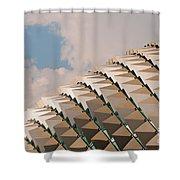 Esplanade Theatres Roof 01 Shower Curtain