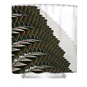 Esplanade Theatres Roof 10 Shower Curtain