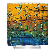 Essence Of Life By Madart Shower Curtain