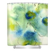 Essence Of Poppy II Shower Curtain