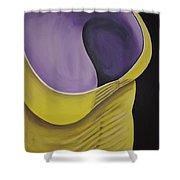 Essence Of Violet Shower Curtain