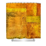 Essence Of Yellow Shower Curtain
