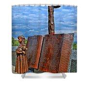 Essex County N J 9-11 Memorial 4 Shower Curtain