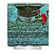Essex County N J 9-11 Memorial 6  Shower Curtain