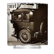 Essex Super Six In Carmel Dairy 1933 Shower Curtain
