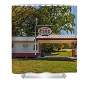 Esso Dealer Shower Curtain