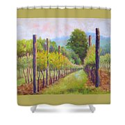 Estate Pinot Shower Curtain