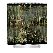Estuaries Edge Shower Curtain