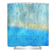 Eternal Blue - Blue Abstract Art By Sharon Cummings Shower Curtain by Sharon Cummings