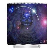 Eternal Buddha Shower Curtain