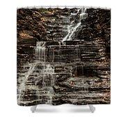 Eternal Flame Waterfalls Shower Curtain